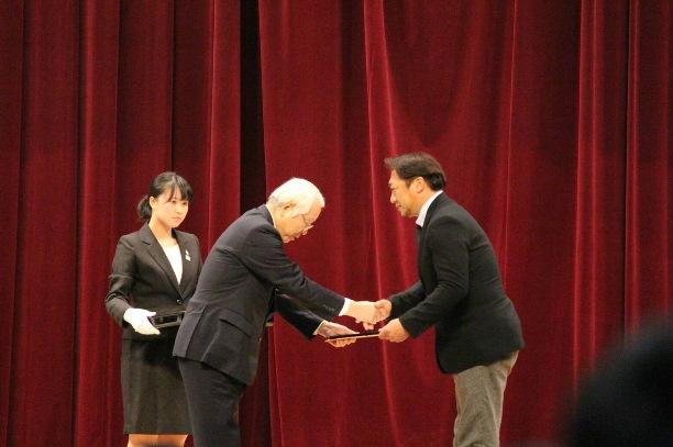 2兵庫県体育協会優秀指導者賞(監督山上裕之)