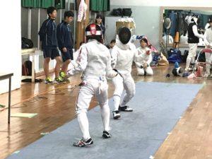 フェンシング総体1-1