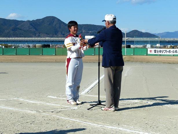7下奥信也賞(大会MVP):柏原祥乃(2年)⑦